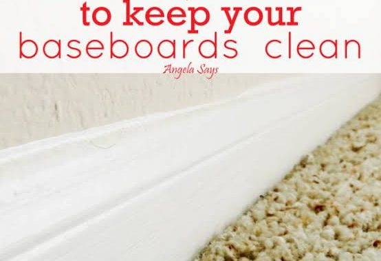 Amazing & Easy Baseboard Cleaning Tips