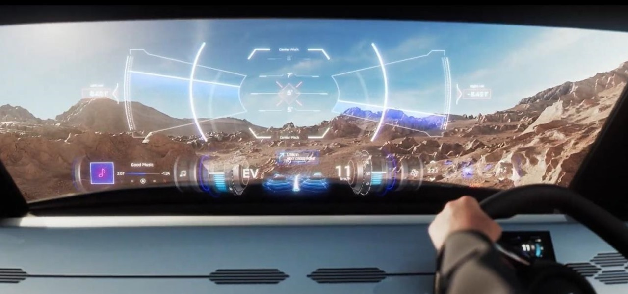 AR Dashboard Displays in cars