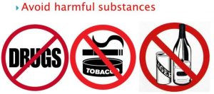 Avoid Harmful Substances