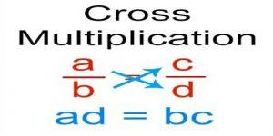 Cross-multiplication