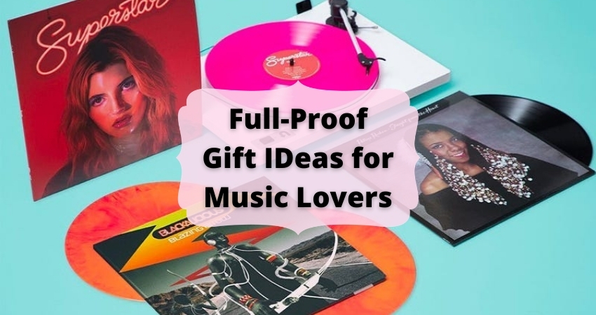 6 Great Gift Ideas for Music Lovers