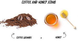 Home Made Coffee Lip Scrub