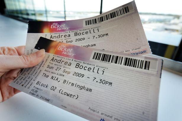 Music Concert Tickets