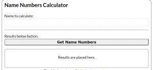 Urge Number Calculation