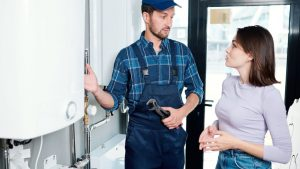 Customer Service of a Plumber