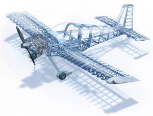 titanium use in making airframe